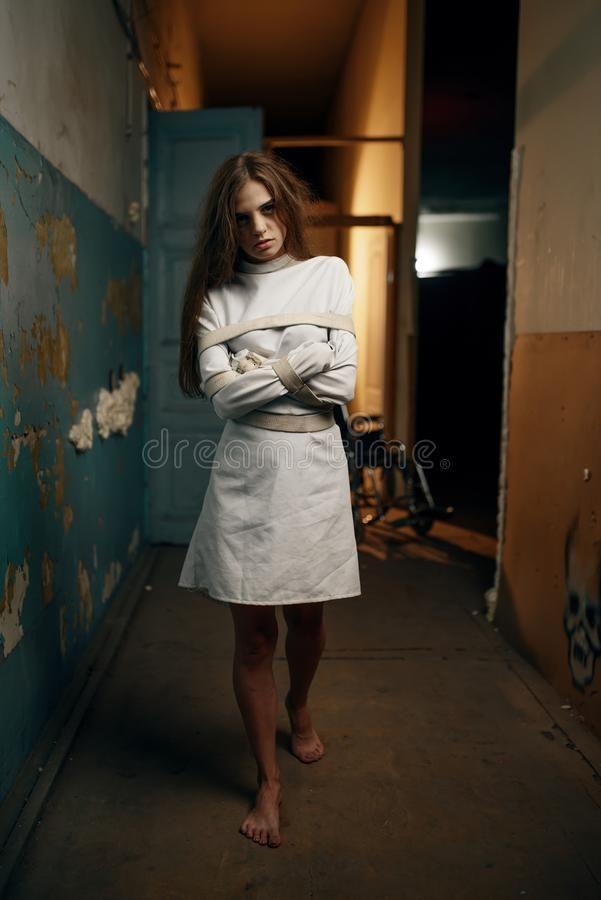 Straitjacket Straightjacket Medical Regulation Restraining Photo Shoot Dress