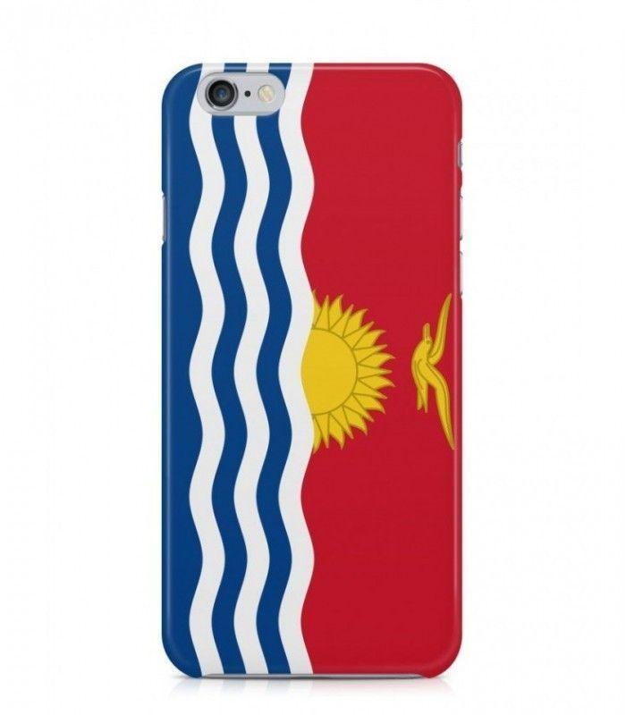 I-Kiribati Flag 3D Iphone Case for Iphone 3G/4/4g/4s/5/5s/6/6s/6s Plus - FLAG-KI - FavCases