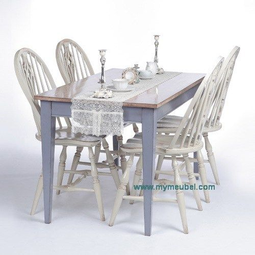 Farm Small Dinning Table Set