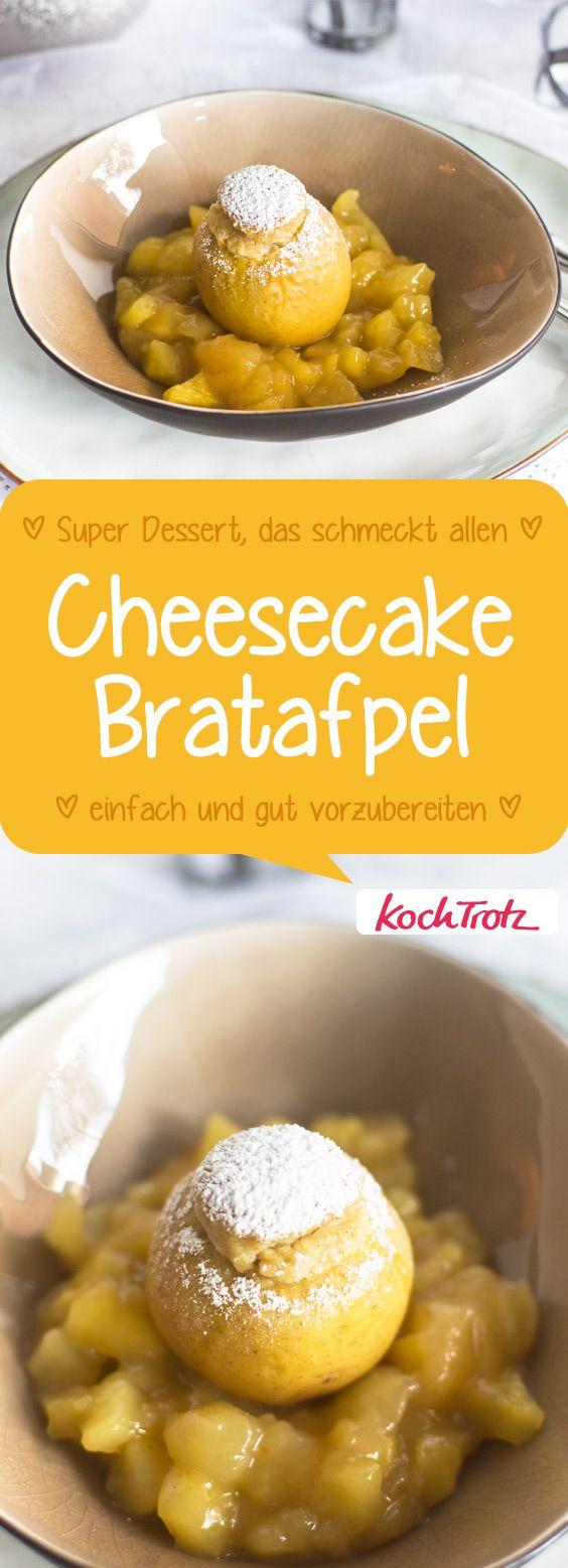 Ein sehr leckeres Winterdessert!  #bratapfel #laktosefrei #dessert