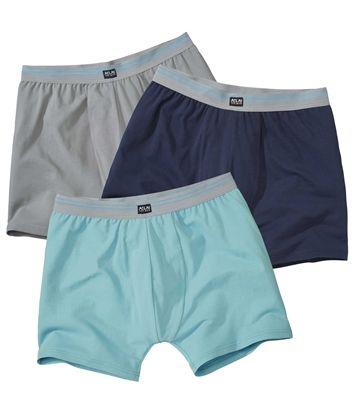 Lot de 3 Shortys Bien-Être #atlasformen #avis #discount #shopping #shoppingformen #men #man