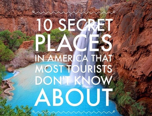 Road trip? 10 Secret Places in America That Most Tourists Don't Know About. Click to venture into USA's hidden mysteries! #spon #adventure