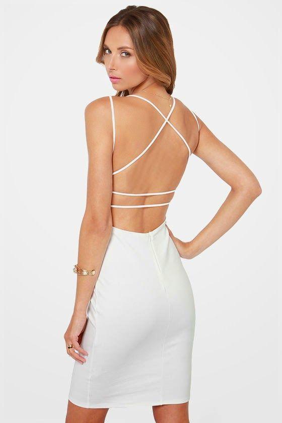 Fantásticos vestidos de fiesta con espalda descubierta | Moda y Tendencias