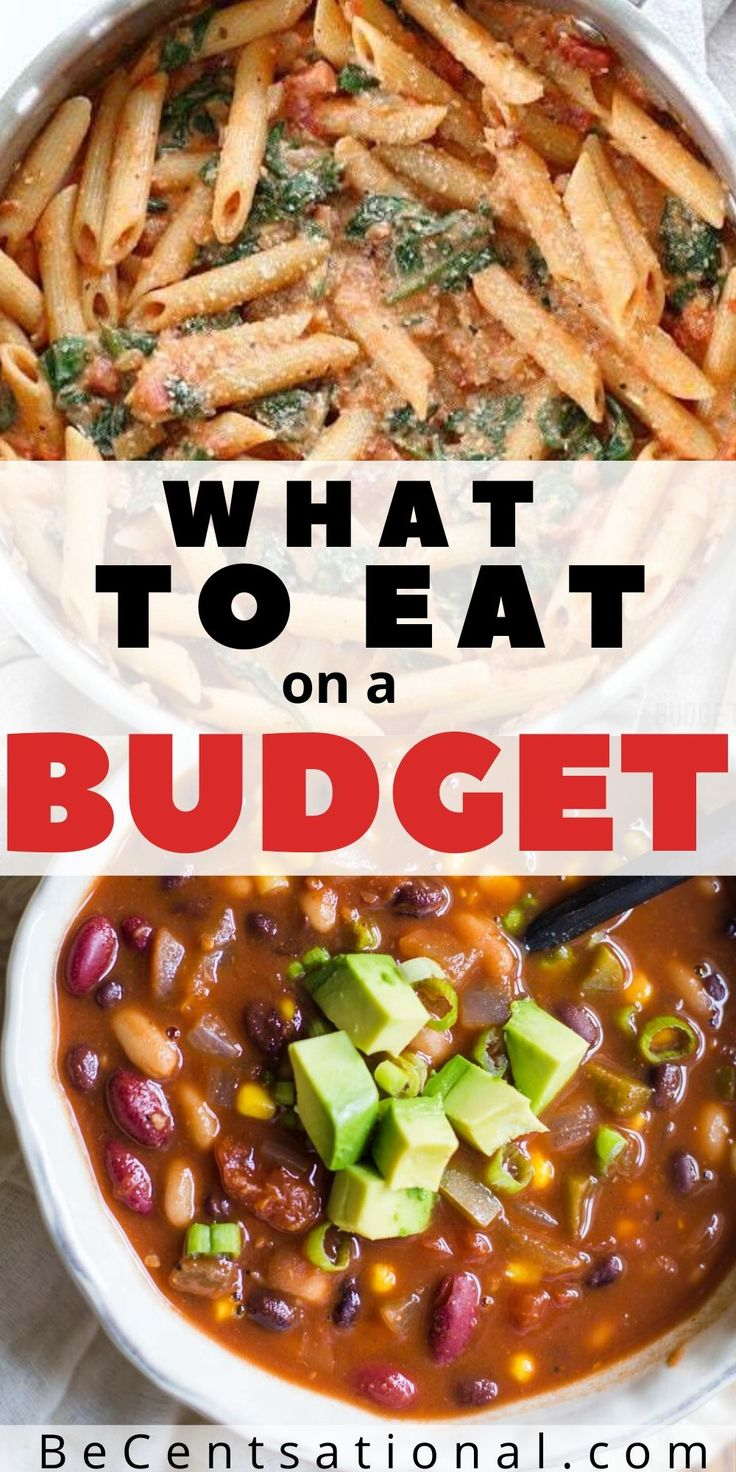 What can eat when you are broke? Try these cheap meals