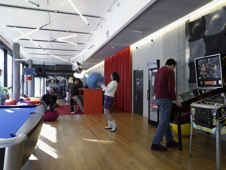 Google Office Zurich | Reception #GoogleZurich, #Office, #Games, #Play