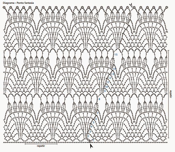 Margaret Blouse | Crochet patterns | Pinterest | Crochet doble ...