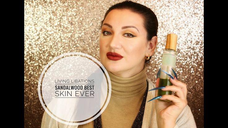 Living Libations Sandalwood Best Skin Ever Organic Skincare Oil Review