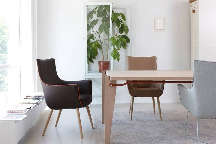Donk Dining Table Designed by Floris Hovers  |  Label available at Modern Intentions. Shop here for authentic, designer, modern furniture!