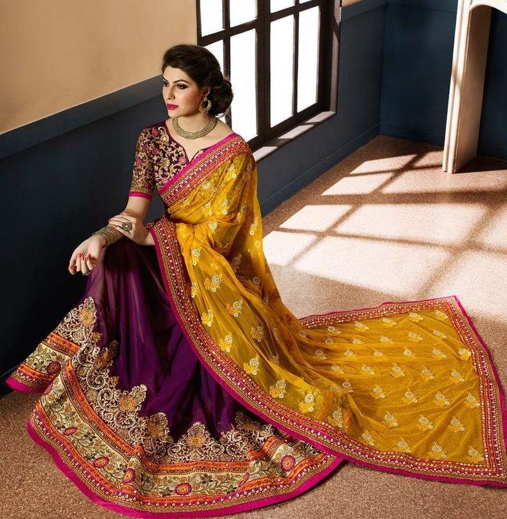 Indian Pakistani Designer Saree Blouse fabric Bollywood partywear Sari dress new #Handmade #SareeBlouse