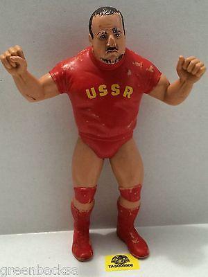 "(TAS005500) - WWE WWF WCW nWo Wrestling LJN 8"" Action Figure - Nikolai Volkoff"