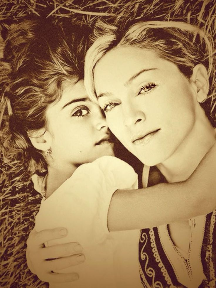 Madonna and Lola. Gorgeous photography.