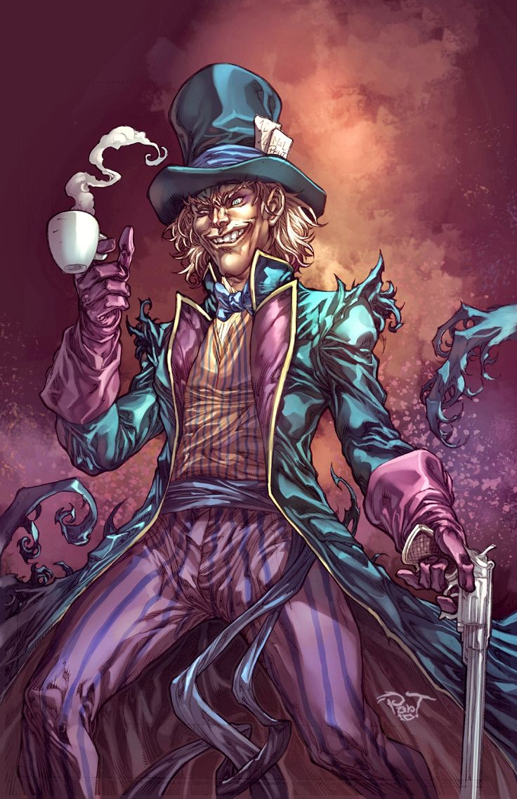 Mad Colors on the Hatter by pant.deviantart.com on @DeviantArt