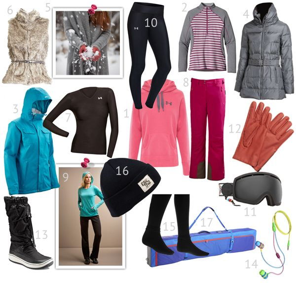 What to pack for a snow vacation