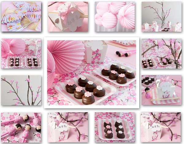 Cherry Blossom The Petite Party Company creating magic parties for little ones
