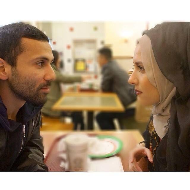 This look, great couple, masha'allah
