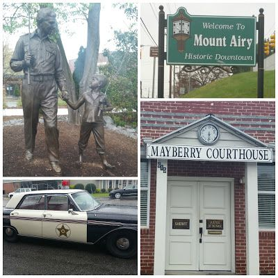 Family travels: a Trip to Mayberry in Mount Airy North Carolina ~ A Mama's Corner of the World