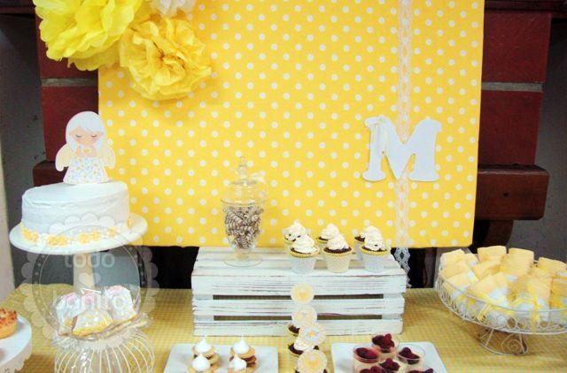 Ideas mesa primera comuni n ni as tem ticas eventos - Ideas para decorar una mesa de comunion ...
