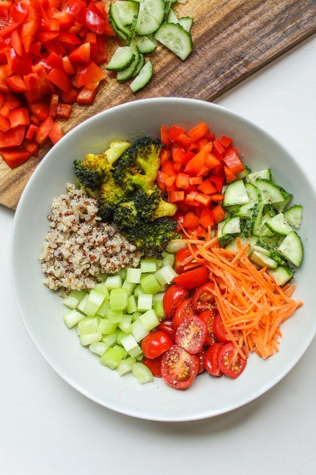 simple vegetable heavy diet plan