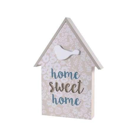 Decorative Wooden House Plaque | Dunelm