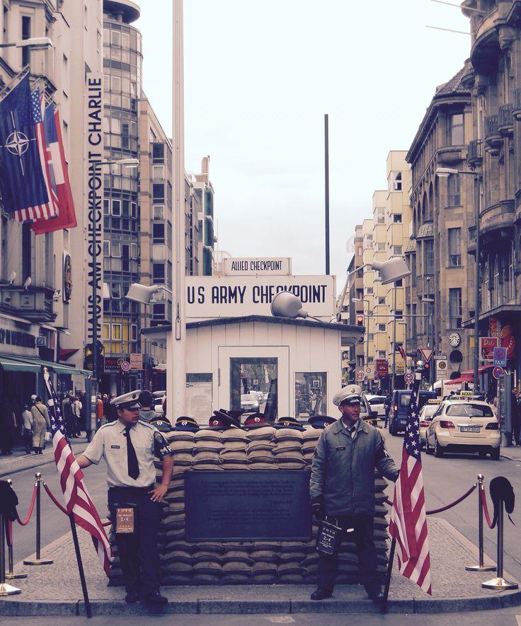 Checkpoint Charlie - Berlin #trainthetripperintoyou