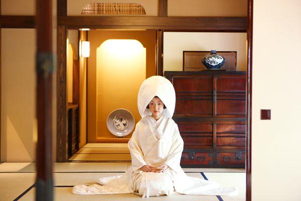 Traditional #Wedding Kimono, SHIROMUKU style