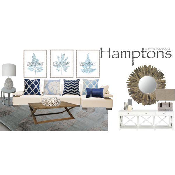 Moodboard Hamptons Style