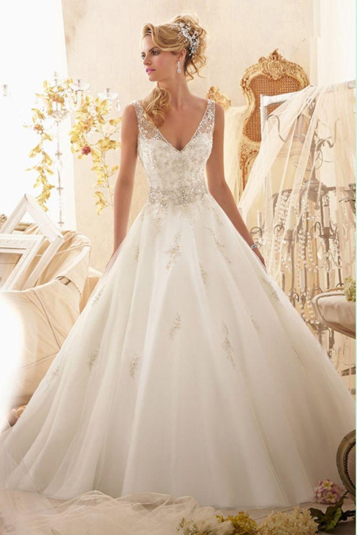 Ronald joyce lace wedding dress september 2018  best Winter Wedding images on Pinterest  Winter weddings Winter