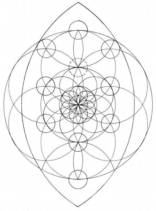 sacred geometry, tree of life, yoni / Sacred Geometry