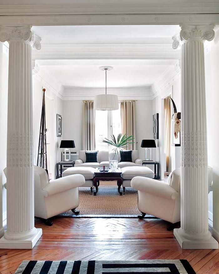 Neo-classical-living-room