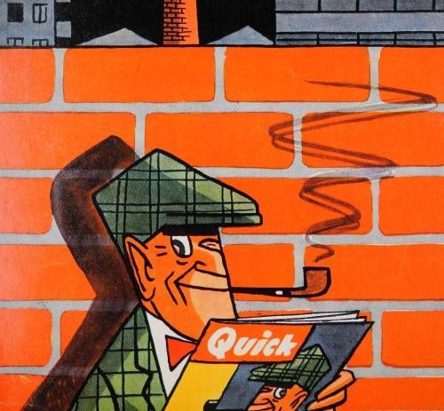 Nick Knatterton: Manfred Schmidts deutscher Sherlock Holmes - SPIEGEL ONLINE