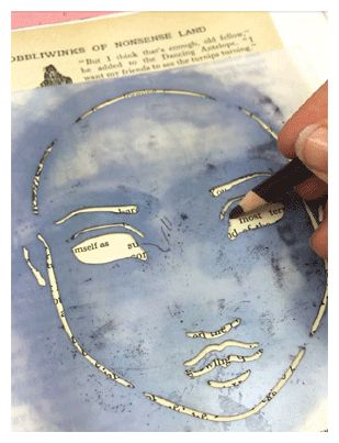collage stencil art jane davenport Article: keep it clean: how to maintain 3 mixed-media collage art tools