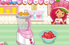 Juegos de Fresita.com - Juego: Pastel de Rosita Fresita Gratis Online - Rosita Fresita Frutillita Tarta de Fresa