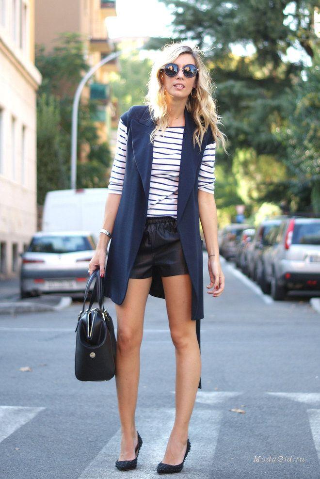 Уличная мода: Уличная мода: тренчи и пальто без рукавов