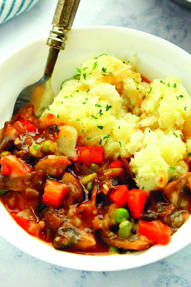 Shepherd S Pie Recipe Tasty Vegetarian Recipes Vegetarian Vegan Recipes Vegetarian Recipes