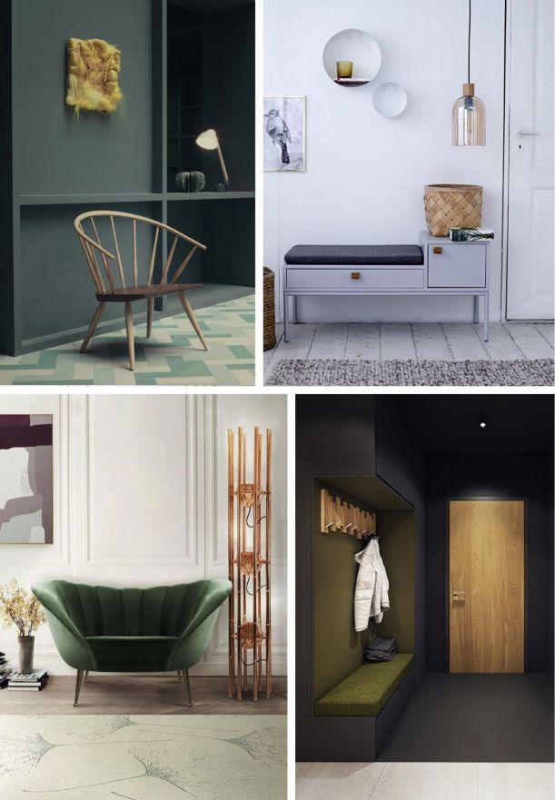 8 tipů, jak si poradit se vstupní halou | Insidecor - Design jako životní styl
