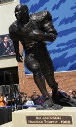 Bo Jackson's Heisman statue!