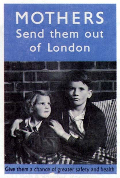 rcast    Impact of WWII on Britain...This source shows children during the war who are scared by the Blitz. This is a propaganda poster persuading mothers to send their children on the train to the countryside where they can be safe, away from the German bombing in the cities and towns. This is accurate because i know that mainly children were evacuated to the safer country and London was bombed heavily during the Blitz. . Also, some children went to Canada, India, USA and…