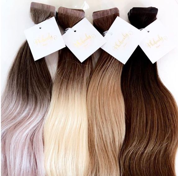 Philocaly Hair offers the most premium range of ombré Russian Remy tape-in and clip-in hair extensions and the cutest hair care products.