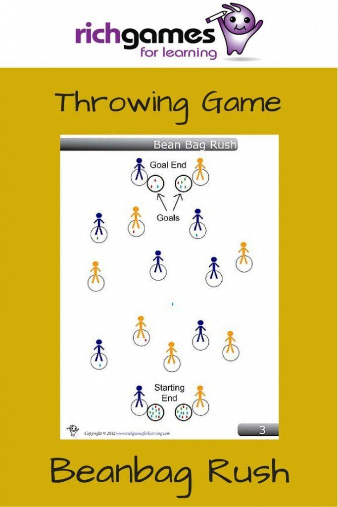 Throwing Game - Beanbag Rush