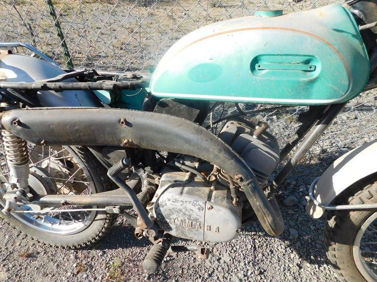 '70 Yamaha Ct 1 175 Enduro Vintage MX Motocross Parts Bike or Core Rebuilder | eBay