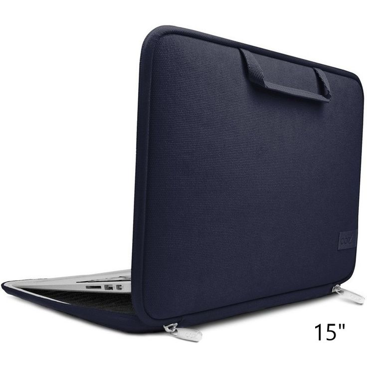 Laptop Sleeve w Smart Cooling Pad Blue Night 15in | Buy Laptop Cases & Bags