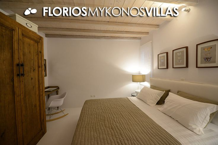 Up to 6 guests, 3 bedrooms, 3 bathrooms. The villa features full air conditioning (Clima), Wi-Fi, TV, DVD, CD and alarm system. Villa for Rent on Mykonos island, Greece. FMV1327 http://florios-mykonos-villas.com/property/fmv1327/
