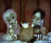 """В этом посте http://www.liveinternet.ru/users/3341029/post293599571/ прекрасно и гармонично все (прямо как в нашем августовском кофе от Miscela d'Oro:)) и цитата от Томаса Стернза Элиота """"Свою жизнь я измеряю кофейными ложечками"""", и великолепная """"Try To Remember"""" от Гарри Белафонте (это не Том Джонс:)) и восхитительные картины от польского художника Grzegorz Ptak (кто подскажет, как правильно по-русски звучит его имя?). Заметили поразительную любовь мастера к кофе-чаю?:)"""