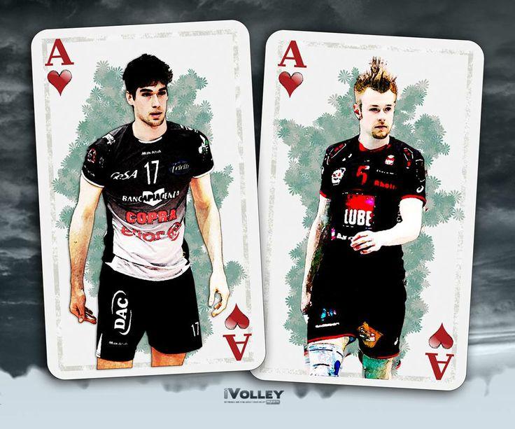 I due assi di cuori italiani: Luca Vettori ed Ivan Zaytsev. www.ivolleymagazine.it/upload/sommario/965.pdf