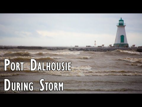 Port Dalhousie During Storm | Naturally in Niagara