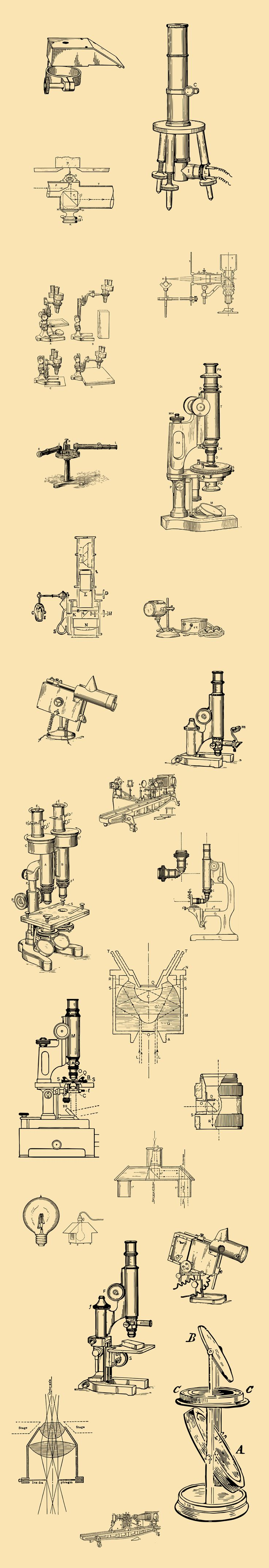 Vintage Optical Devices Illustrations [59 Items] | #vector #illustration #masterbundles