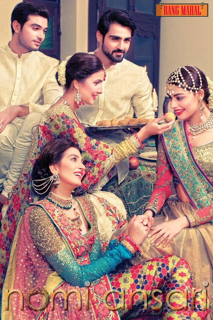 nomi ansari Rang Mahal bridal collection 1 width=