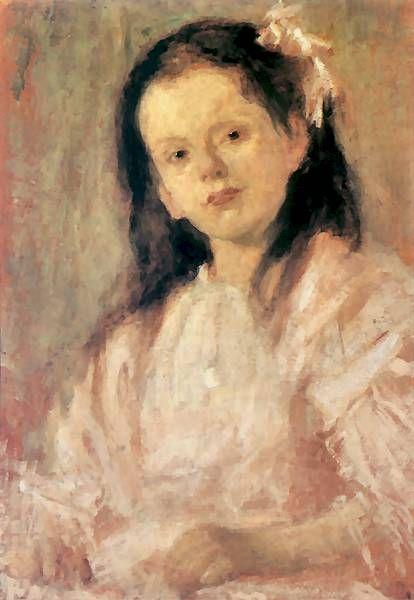 Olga Boznańska, Portret Władysławy Chmielarczykowny, 84 x 126, MNW, olej na tekturze