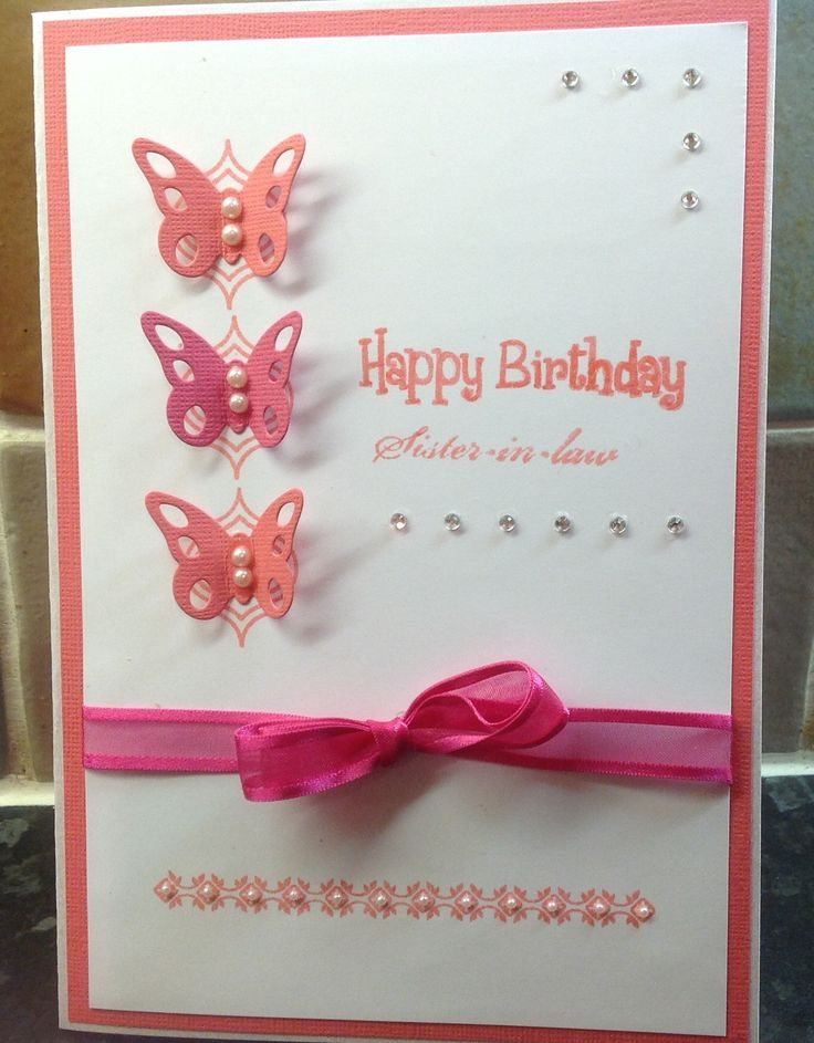 Birthday Craft Ideas For Sister
