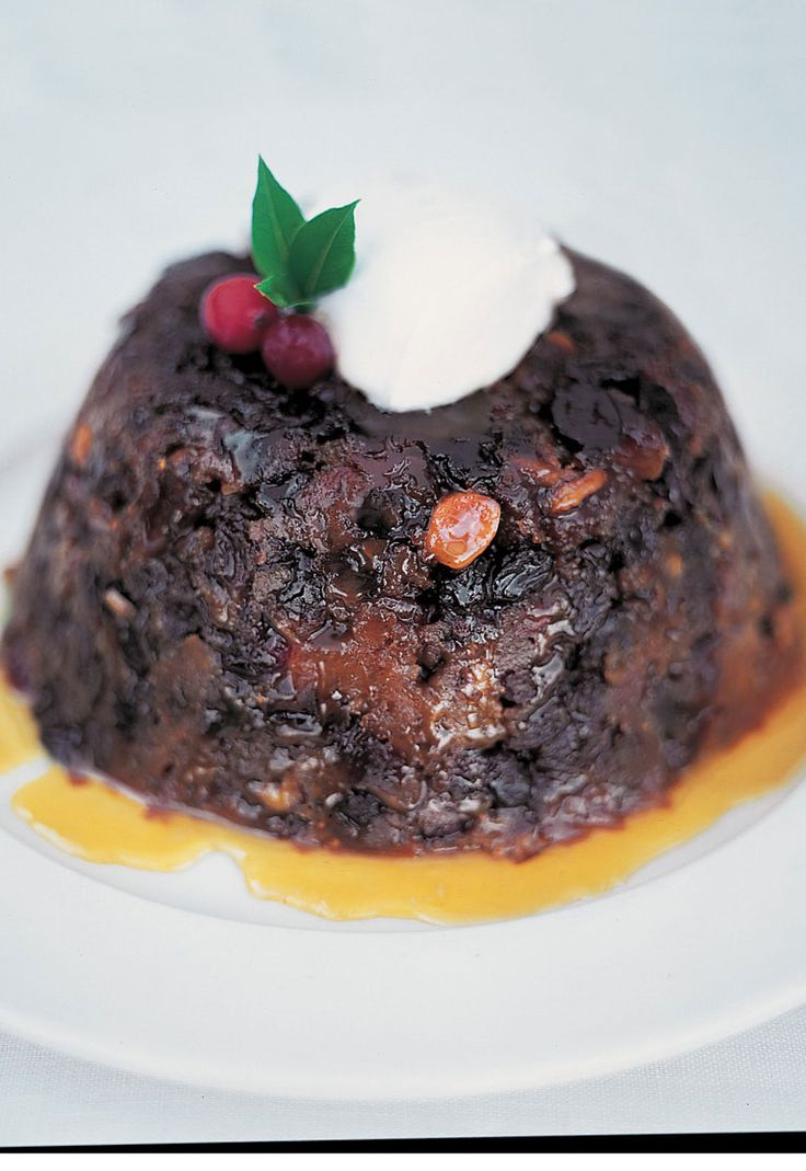 Christmas pudding. Before you even think about buying a Christmas pudding, you've got to try this. It's so easy, it won't let you down and it's so much lighter than those heavy old puddings.